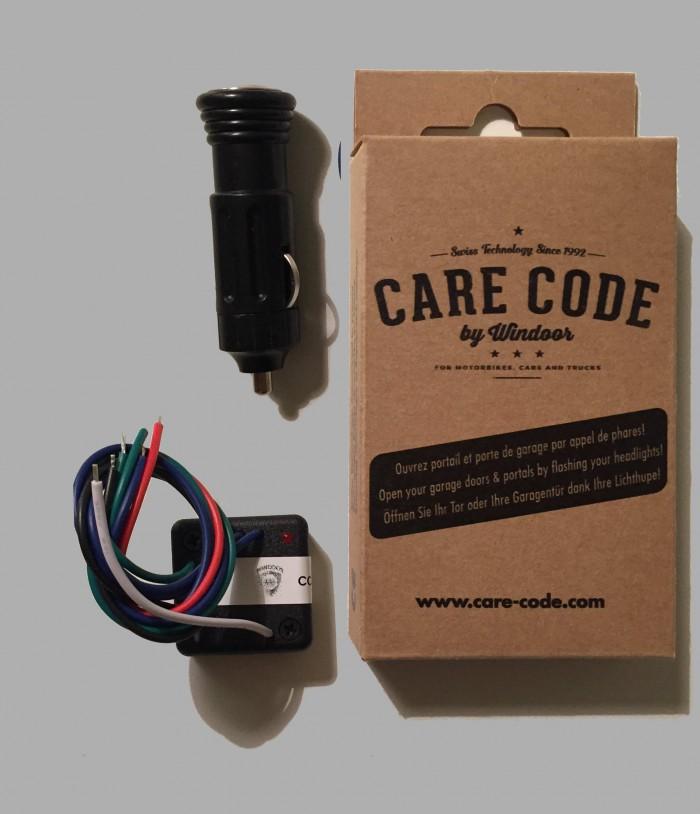 CARE-CODE KIT COMPLET — CC-K-AC (émetteur via allume-cigare)