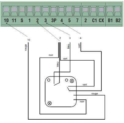 Notice de montage pour motorisation CAME ZA3N