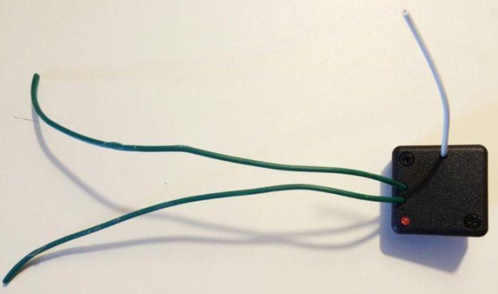 CARE-CODE – Émetteur auto-alimenté  — CC-EME-AUT (à utiliser avec un bouton poussoir)